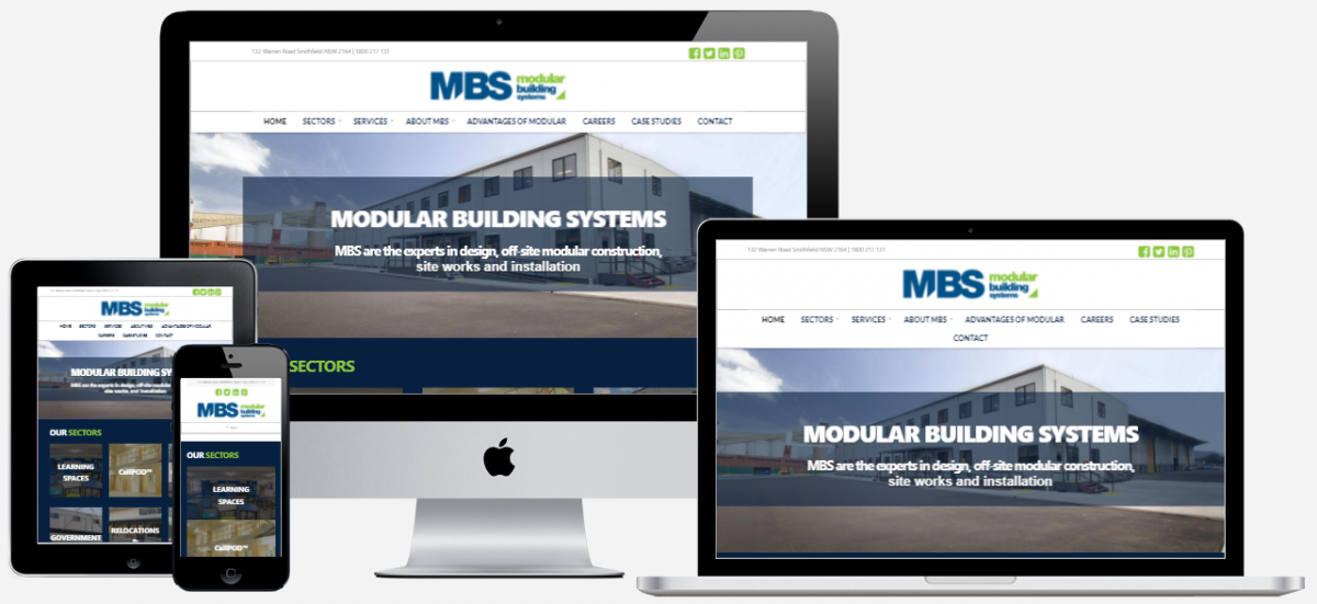 MBS Website Design